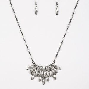 Crowning Moment - Black Necklace